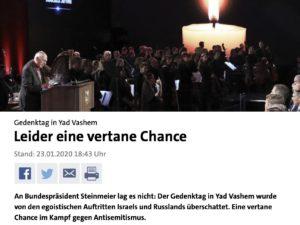 """Wenn  """"Lieschen Müller"""" den Juden das Gedenken erklärt"""